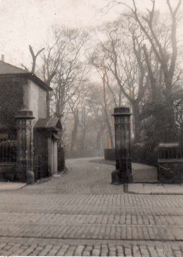 East Entrance to Blacket Avenue. Probably pre 1920.